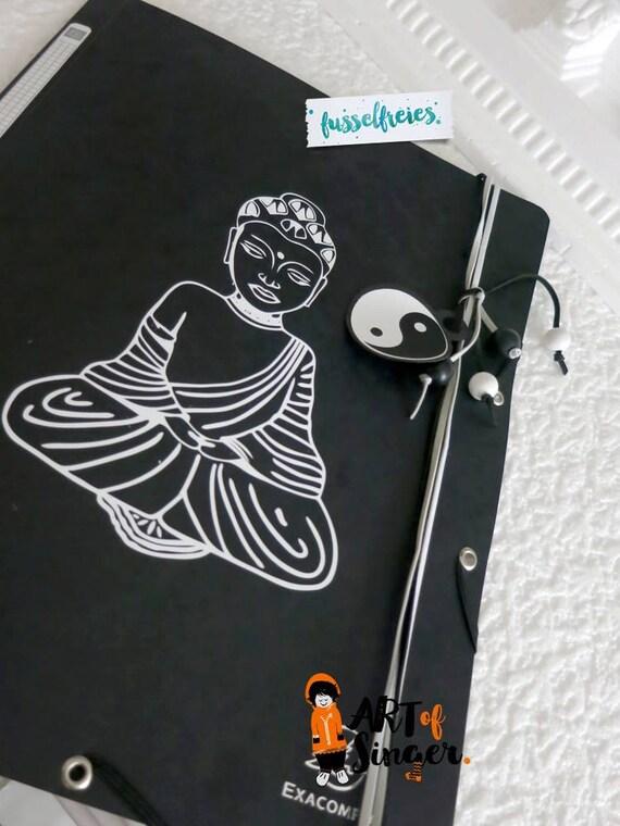 dxf svg cut file buddha lotus flower yin yang cutting file. Black Bedroom Furniture Sets. Home Design Ideas