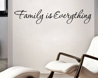 FAMILY IS EVERYTHING - Free Shipping !!