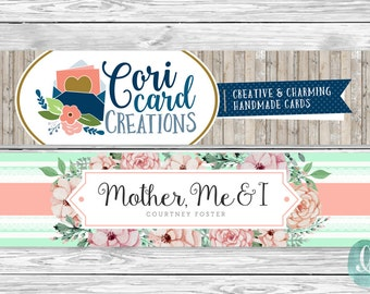 OOAK Custom Designed Etsy Cover Photo | New Etsy Banner Cover Layout | Graphic Design | Shop Branding and Marketing | Unique & Professional