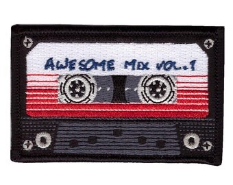 Velcro Awesome Mix Tape Morale Tactical Patch