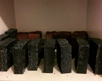 Activated Charcoal Sea Salt Spa Bar