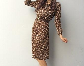 1970s summer/autumn dress