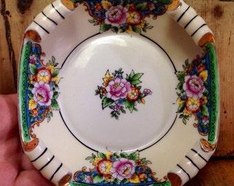Vintage Noritake plate handpainted in Japan