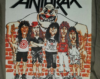Vintage Anthrax  backpatch