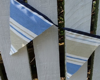 Nautical stripe Bunting