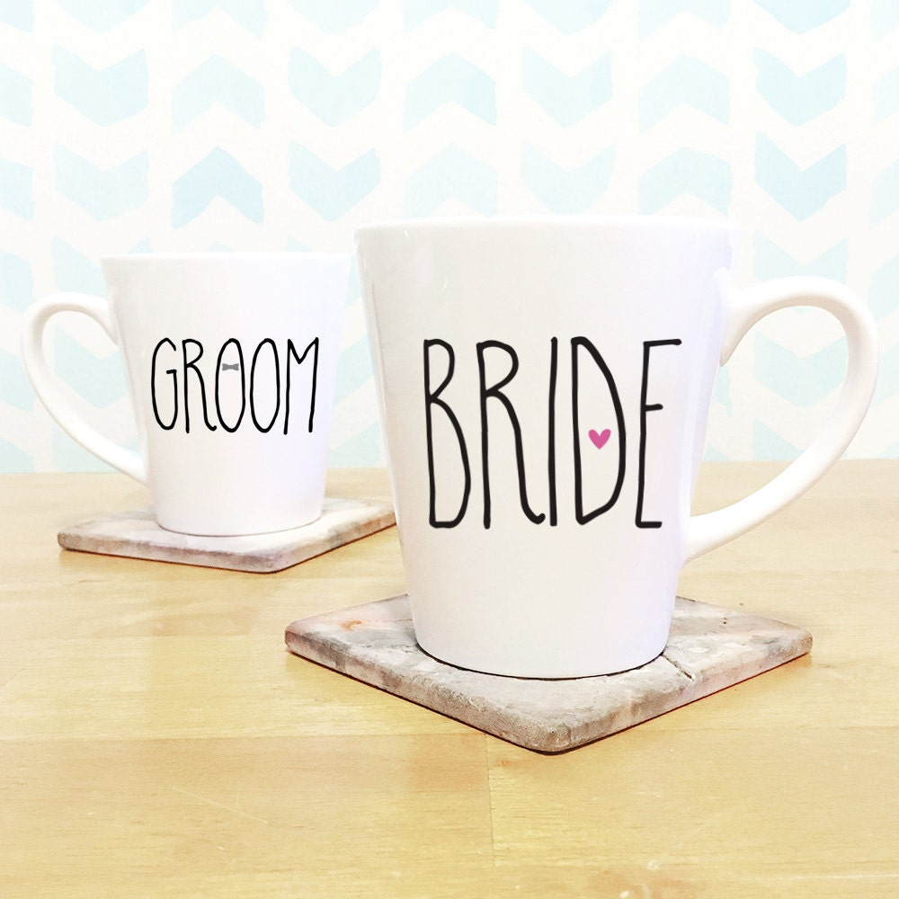 Wedding Gift Sets For Couples : Wedding gift for couples / Coffee Mug Set / Wedding gift /