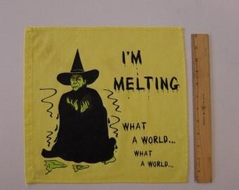 Wizard of Oz Wicked Witch Flag