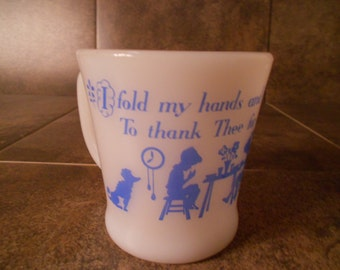 Collectible Milk Glass