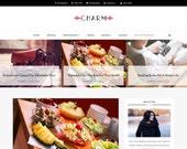SALE! Blogger Responsive Template - Charm