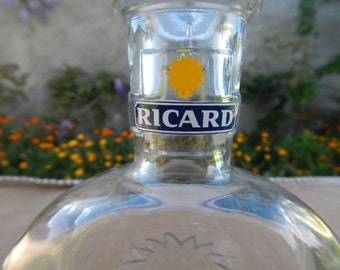 French Retro Ricard Bottle / decanter 1950's.