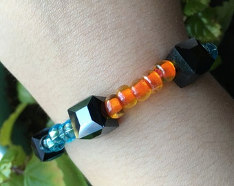 Portal Cube Elastic Bracelets - Companion Cube Weighted Storage Cube Portal 2 Chell Aperture Science