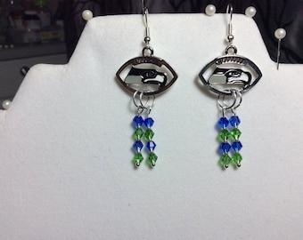 SEAHAWKS Cascade earrings