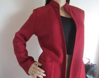 Vintage knit jacket Cardigan Bleyle S