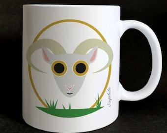 "mug ""les Grozeuil"" Philémon the sheep"