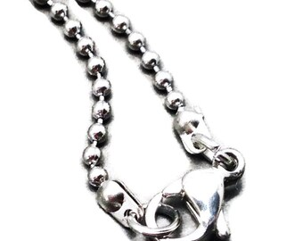 "5 x 316l 18"" stainless steel 1.5mm ball chain 