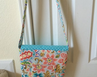 Bright and Cheery Small Messenger Bag