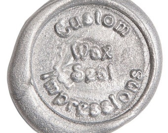 Metallic Silver Sealing Wax (Traditional Candle & Glue Gun Stick)
