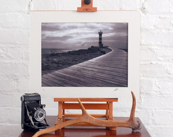 Fine Art Limited Edition Photographic Print of a Mallorca lighthouse. 16x12 inches