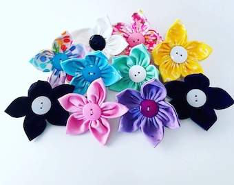 Flowers for Dog Collars