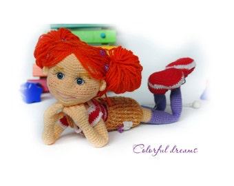 "Crochet pattern ""Tonya the Doll"""