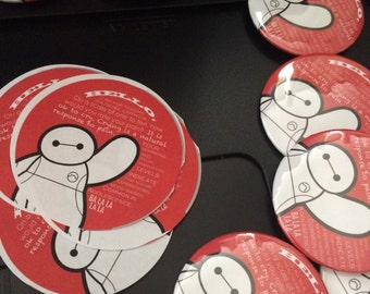 "Baymax Quote 2.25"" Pinback"