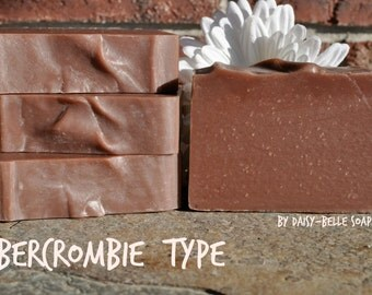Abercrombie Fierce Type - Natural, Handcrafted, Artisan Soap, by Daisy Belle Soaps