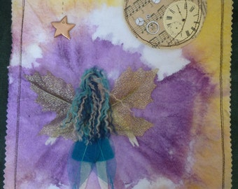 Start light, star bright Faerie Wall Hanging