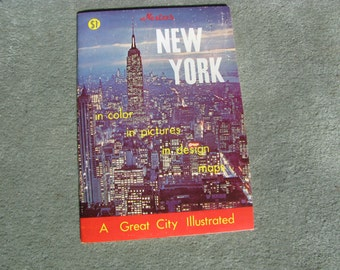Vintage Nester's New York - 1970 edition - Final Clearance!