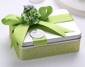 Green Gift Tin