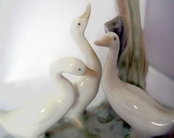Nao by Lladro Three Ducks group.