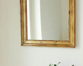 Vintage wooden mirror (50-60 years)