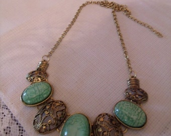 Fashion Jewelry Neckless from the 1990's, (# 50/3)