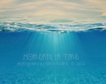 Moments In Time Underwater Digital Background (Landscape_