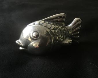 Happy Shiny Fish Desk Ornament/ Paper Weight