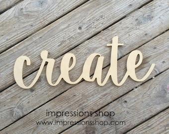create wooden cutout