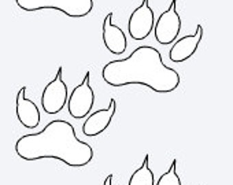 Grey Wolf Paws