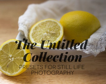 The Still Life Collection | Presets for still life photography
