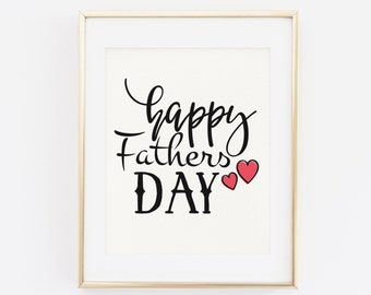 Father's Day Printable, Happy father's day, Father's Day Gift, Father's Day, Gift for dad, Printable Father's day gift, Happy fathers day