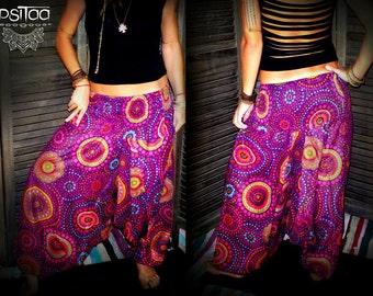 Harem Ali baba pant colorful ethnic hippy roots