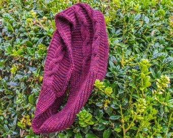 plum - cable and rib cowl