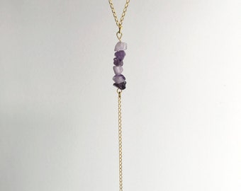 Amethyst & Arrow Necklace ~ gold necklace ~ SALE ~ 25% summer discount ~ use code SUMMERVIBES2017