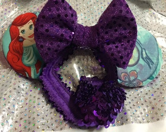 Baby headband with ears
