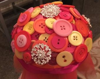 Medium Button Bouquet