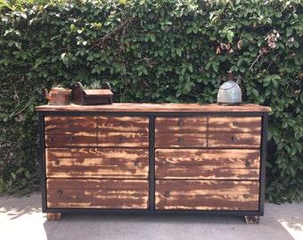 Restoration hardware inspired dresser