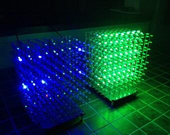 3D Dynamic LED Cube