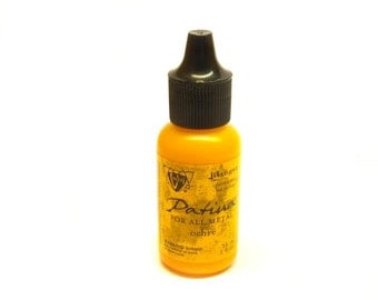 Ranger Vintaj patina 15ml bottle Ochre yellow earthy ochre