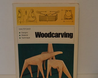1973 Woodcarving Book