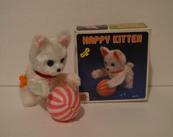 The Happy Kitten Wind Up Toy w/ Original Box