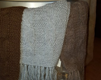 Alpaca knit Scarves