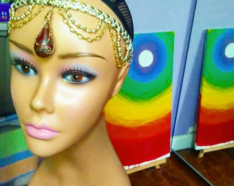 Indian Inspired Headpiece
